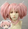 Puella Magi Madoka Magica Madoka Puffy Pink Cosplay Wig
