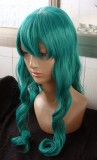 Bleach Neliel Tu Oderschvank Turquoise Green Curly Cosplay Party Wig