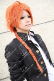 Gintama Kamui Orange Braid Hair w/s Ahoge Cosplay Party Wig