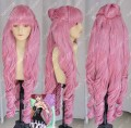 One Piece Perona 2 Years Later Ver. Pink 90cm Cosplay Party Wig w/ Ponytails