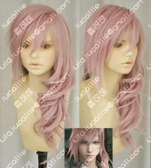 Final Fantasy 13 Lightning Cosplay Wig Final Fantasy XIII 13