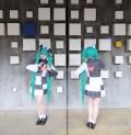 Vocaloid Miku Hatsune 120cm Cosplay Wig w/Ponytails
