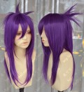 Reborn! Chrome Dokuro 10 Years Later 60cm Styled Purple Cosplay Party Wig
