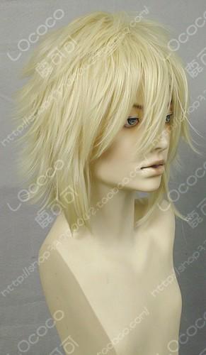 Durarara!! Shizuo Heiwajima Blonde Cosplay Wig