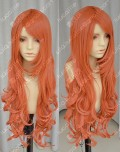 One Piece Nami 2 Years Later Version 80cm Dark Orange Wavy Lolita Cosplay Wig