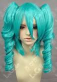 Vocaloid Miku Hatsune Ryuu no Naku Cosplay Wig