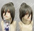 Hanasaku Iroha Nako Oshimizu Greyish Green Cosplay Wig