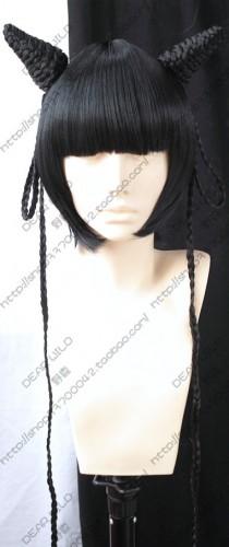 Black Butler Kuroshitsuji Ran Mao Cosplay Wig