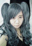 Black Butler Kuroshitsuji Ciel Girl Version Cosplay Wig