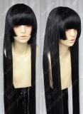 Dusk Maiden of Amnesia Kanoe Yuuko 1m Styled Black Straight Cosplay Party Wig
