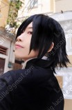 Code Geass Zero Lelouch Short Black Cosplay Party Wig