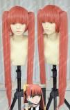 La storia della Arcana Famiglia Felicita Reddish Orange Cosplay Party Wig