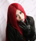 FAIRY TAIL Elza·Scarlet 100cm Straight Dark Red Cosplay Party Wig