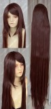 150cm Straight Dark Red Brown Cosplay Party Wig