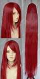 FAIRY TAIL Elza·Scarlet 150cm Straight Dark Red Cosplay Party Wig
