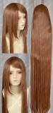 150cm Straight Brown Cosplay Party Wig