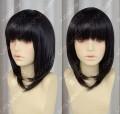 Sword Art Online Alfheim Kirigaya Suguha Black Styled Cosplay Party Wig