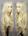 Queen Style 100cm Light Golden Loita Curly Cosplay Party Wig