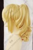 Umineko no Naku Koro ni Ushiromiya Jeshika Golden Lolita Cosplay Party Wig w/ Ponytails