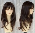 4 Colour Office Lady Style Wavy Daily Cosplay Party Wig