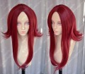 Trinity Blood Esther Blanchett Dark Red Style Cosplay Party Wig