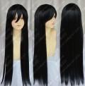 Gintama Katsura Kotaro 80cm Black Styled Cosplay Wig