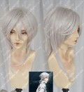 Psycho-Pass Makishima Shogo Silvery White Cosplay Party Wig