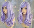 Ayamo Style Silver Mix Purple 70cm Wavy Lolita Princess Party Cosplay Wig