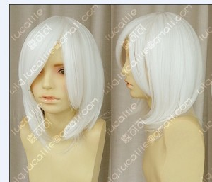 Bleach Ichimaru Gin White Cosplay Party Wig