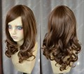 5 Color Youth Girl Style 50cm Classic Brown Daily Curly Cosplay Party Wig