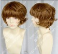 4 Color Youth Girl Style Short Brown Daily Curly Cosplay Party Wig