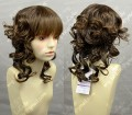 4 Color Youth Girl Loita Style 40cm Brown Daily Curly Cosplay Party Wig