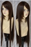 APH Axis Power Hetalia Taiwan 80cm Coffe Brown Straight Cosplay Wig