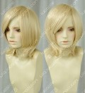 Youth Girl Cream Color Short Cosplay Party Wig