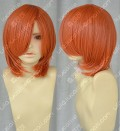 Gintama Kagura Orange Red Short Cosplay Party Wig