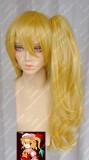 Touhou Project Flandre Scarlet Royal Golden Style Cosplay Wig /W Ponytail