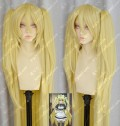 To Love-Ru Golden Darkness Yami 120cm Blonde Lolita Cosplay Party Wig