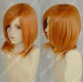 Youth Girl Golden Orange Short Cosplay Party Wig