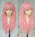 Ayamo Style Pink 80cm Wavy Lolita Princess Party Cosplay Wig