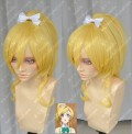 Love Live! Ayase Eri Ponytail Style Blonde Color Cosplay Party Wig