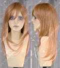 Ayamo Fashion Sunset Color 60cm Straight Cosplay lolita Party Wig