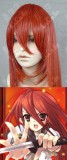 Shakugan no Shana Shana Flame Red 100cm Straight Wig