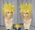 NARUTO Namikaze Minato Lemon Yellow Short Cosplay Party Wig