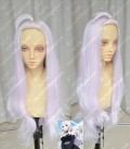 Fairy Tail Mirajane·Strauss Pink Beige 80cm Curly Cosplay Party Wig