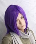 Kuroko's Basketball Murasakibara Atsushi Purple Gradient Cosplay Party Wig