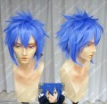 Fairy Tail Jellal Fernandes Light Water Blue Short Cosplay Party Wig