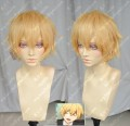 Free!Nagisa Hazuki Light Mix Gloden Cosplay Party Wig