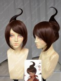 Danganronpa: The Animation Aoi Asahina Nut Brown S Style Hair Short Cosplay Party Wig