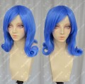 FAIRY TAIL Juvia Hyacinth Blue Short Curly Cosplay Party Wig