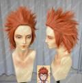 Danganronpa: The Animation Leon Kuwata Orange Red Short Style Cosplay Party Wig